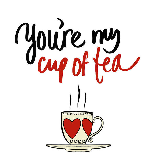 Wall Art - Mixed Media - Cup Of Tea by Sd Graphics Studio