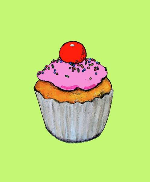 Engels Painting - Cupcake by Sarah Thompson-engels
