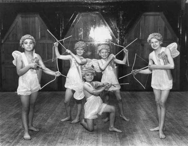 Archery Photograph - Cupid Scouts by Sasha