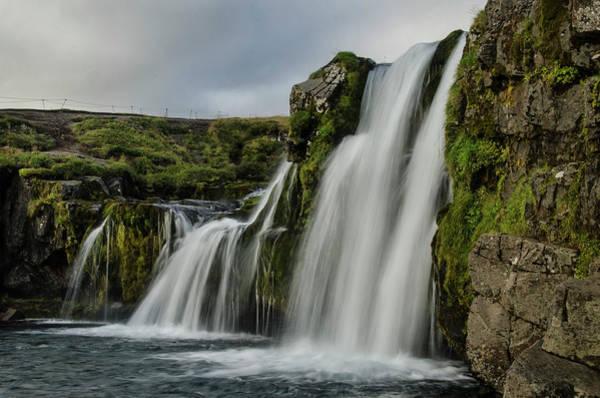 Photograph - Church Mountain Waterfall by Jim Cook