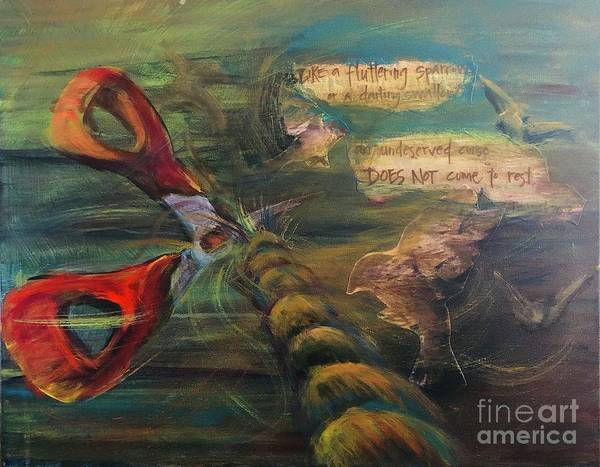 Painting - Curscissors by Lisa DuBois