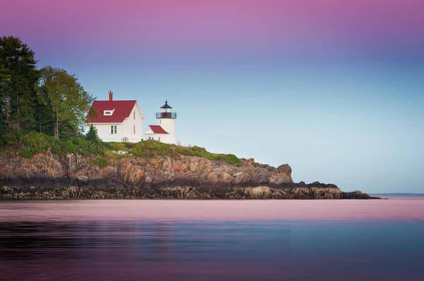 Camden Photograph - Curtis Island Lighthouse - Camden, Me by Doug Van Kampen, Van Kampen Photography