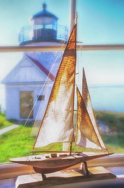 Camden Photograph - Curtis Island Lighthouse by Joseph Devenney