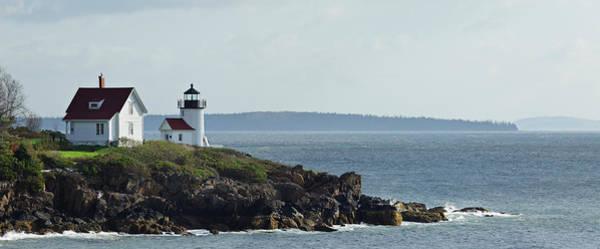 Camden Photograph - Curtis Island Lighthouse by S. Greg Panosian
