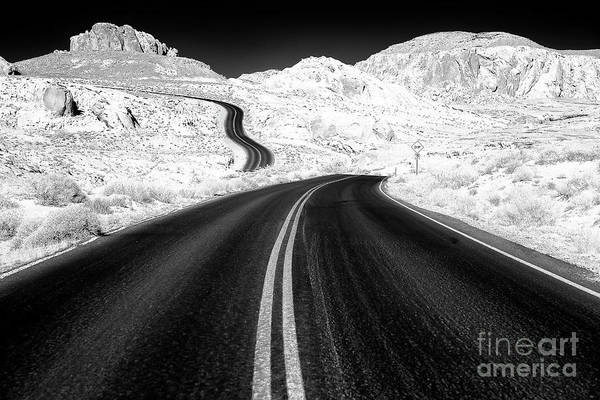 Photograph - Curves At The Valley Of Fire by John Rizzuto