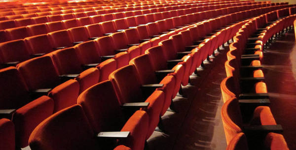 Auditorium Photograph - Curves by Light