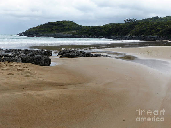 Photograph - Curves On The Beach by Phil Banks