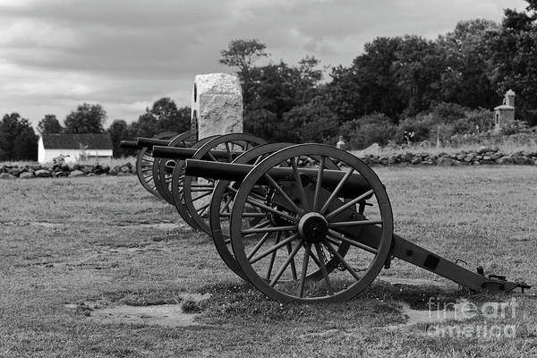 Photograph - Cushings Battery Gettysburg Battlefield by James Brunker
