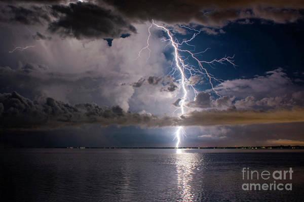Lightning Bolt Photograph - The Dream by Quinn Sedam