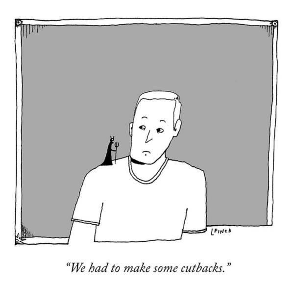 Drawing - Cutbacks by Liana Finck