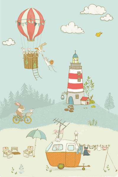 Photograph - Cute Whimsical Animals For Kids by Matthias Hauser