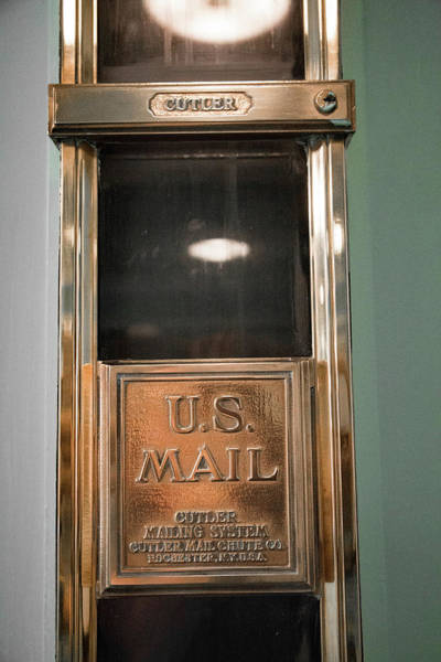 Wall Art - Photograph - Cutler Mail Chute Greenbrier Wv by Betsy Knapp