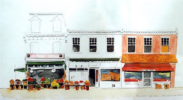 Cutrona's Market On King St. Art Print