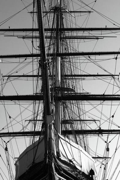Photograph - Cutty Sark At Greenwich Dry Dock by Aidan Moran