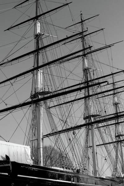 Photograph - Cutty Sark Tall Ship by Aidan Moran