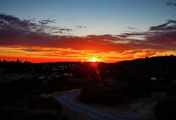 Photograph - Cuyamaca Mountains Sunset by Anthony Jones