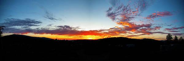 Photograph - Cuyamaca Sunset Panoramic by Anthony Jones