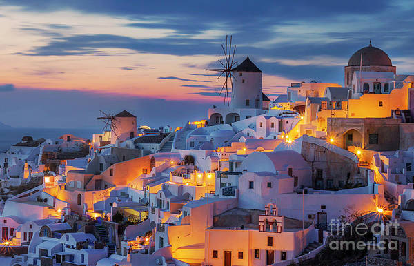 Wall Art - Photograph - Cycladic Architecture Old Town On by Sandipan Paul