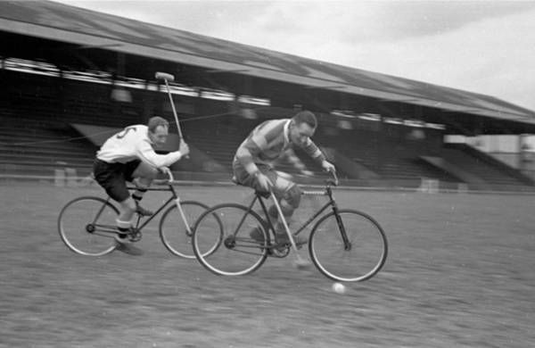 Photograph - Cycle Polo Speed by Bert Hardy