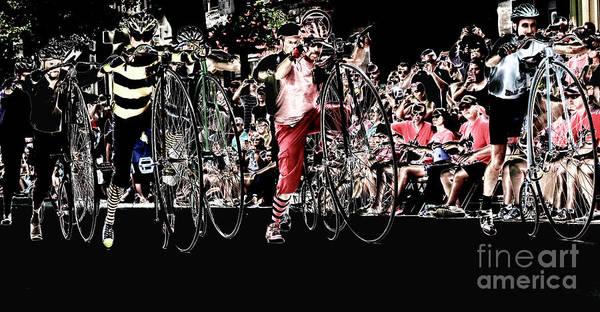 Cycling High  Art Print by Steven Digman