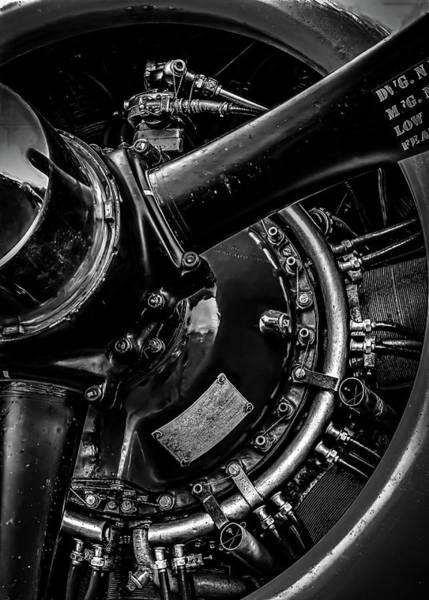 Photograph - Cyclone Aircraft Engine by Bob Orsillo