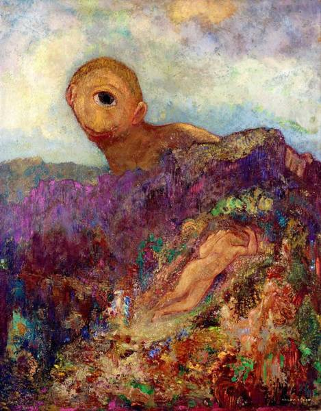 Giant Painting - Cyclops - Digital Remastered Edition by Odilon Redon