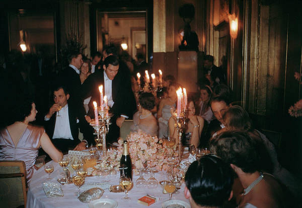 Bottle Photograph - Cygnets Ball by Slim Aarons