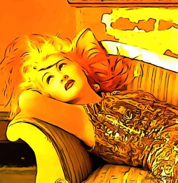 Digital Art - Cyndi Lauper by Catherine Lott