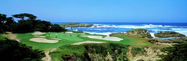 Pebble Beach Golf Course Photograph - Cypress Point Golf Course Pebble Beach by Panoramic Images