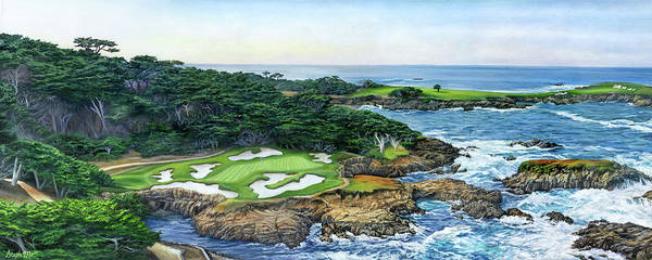 Painting - Cypress Point by Steph Moraca