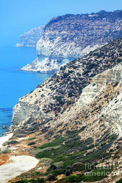 Photograph - Cyprus Seascape View by John Rizzuto