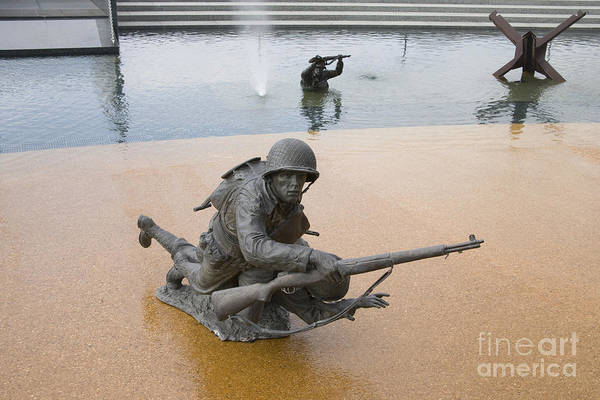 Photograph - D-day Memorial, 2006 by Carol Highsmith