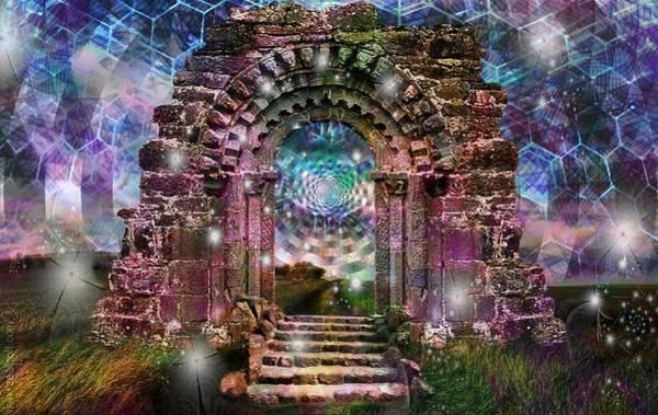 Shaman Digital Art -  D.o.o.r.s . O.f . P.e.r.c.e.p.t.i.o.n by J  - O   N    E - 1