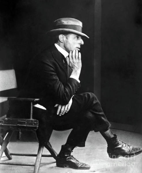 D W Griffith Photograph - D. W. Griffith - American Film Director by Sad Hill - Bizarre Los Angeles Archive