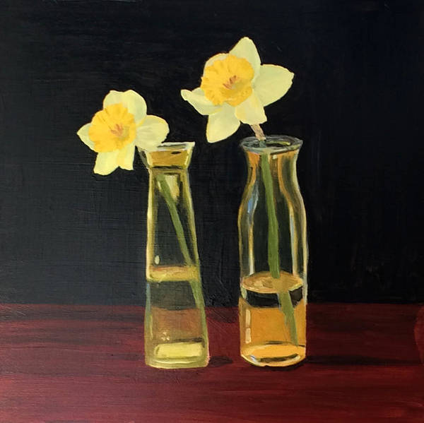 Painting - Daffodils by Emily Warren