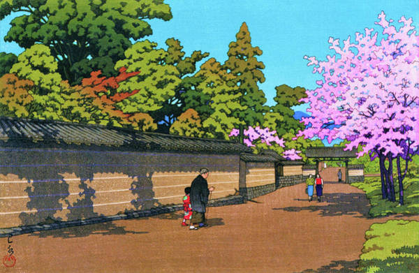 Wall Art - Painting - Daigo Spring - Digital Remastered Edition by Kawase Hasui