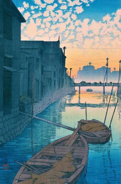 Period Wall Art - Painting - Daikongashi Moning - Top Quality Image Edition by Kawase Hasui