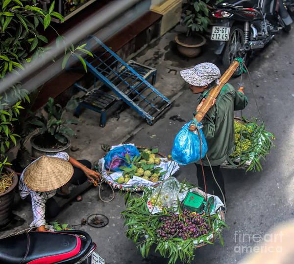 Wall Art - Photograph - Daily Life Hanoi Streets  by Chuck Kuhn