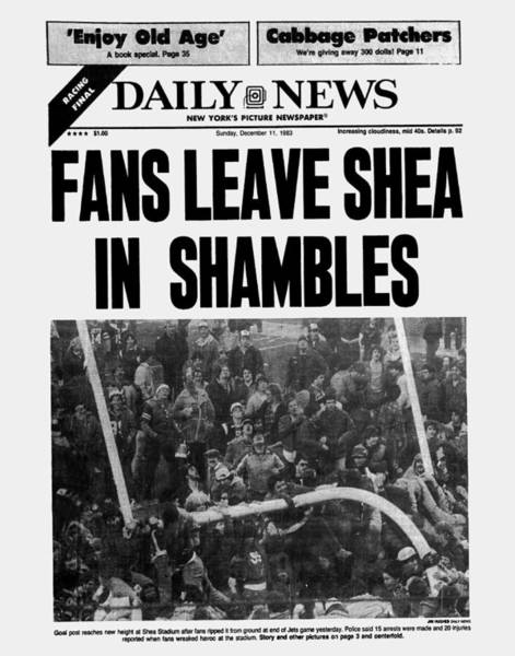 Front Page Photograph - Daily News Front Page December 11 by New York Daily News Archive