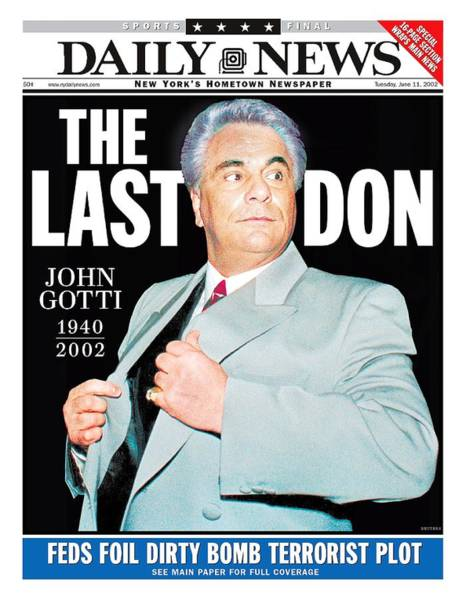 Front Page Photograph - Daily News Front Page June 11, 2002 by New York Daily News Archive