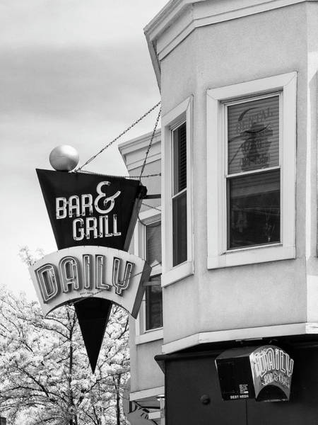 Wall Art - Photograph - Daily Special Daily Bar And Grill by William Dey