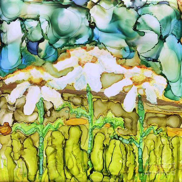 Painting - Daisy Impressions by Lisa DuBois