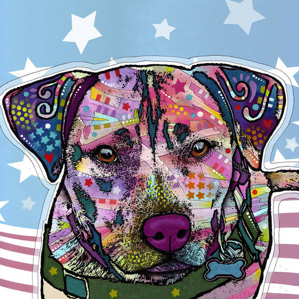 Wall Art - Painting - Dakota by Dean Russo Art