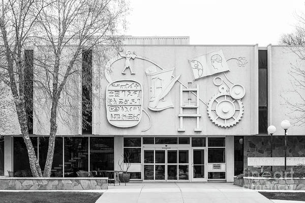Photograph - Dakota State University Mundt Library  by University Icons