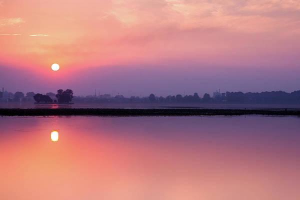Dal Lake Photograph - Dal Lake, Kasmir by Chantelle Flores