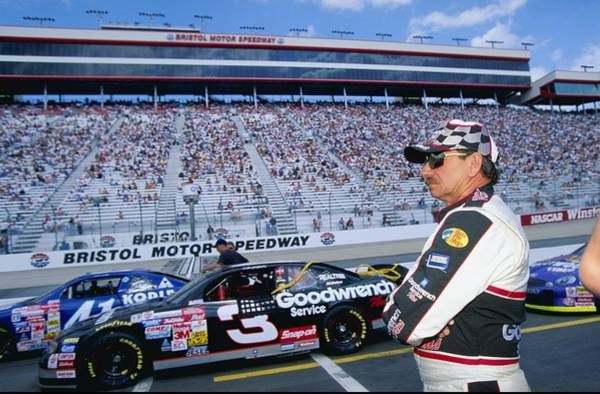Motor Sport Photograph - Dale Earnhardt 3 by Jamie Squire