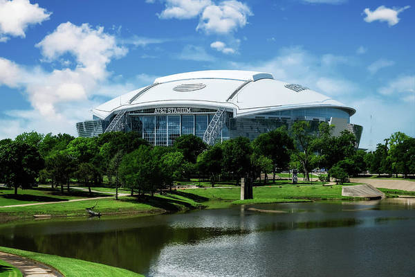 Photograph - Dallas Cowboys Att Stadium Arlington Texas by Robert Bellomy