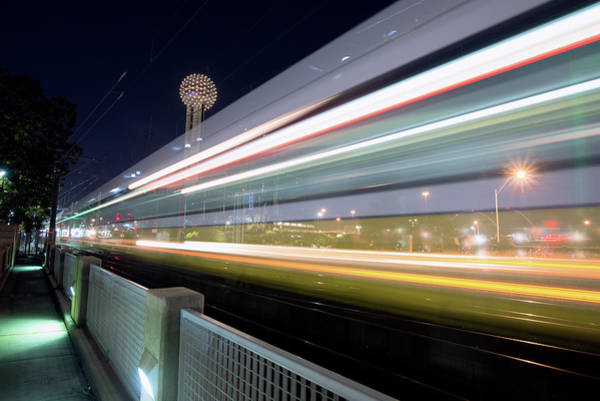 Photograph - Dallas Rapid Transit 111918 by Rospotte Photography