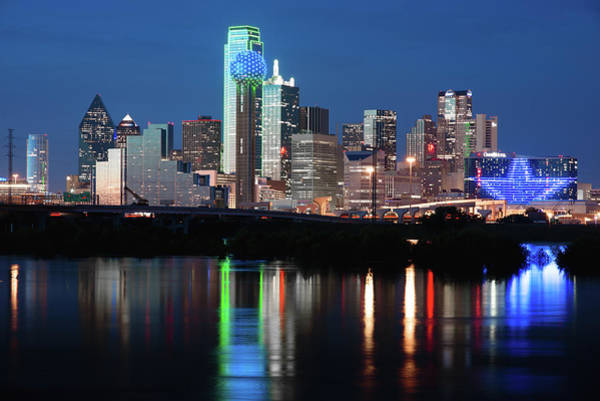 Photograph - Dallas Skyline 031319 by Rospotte Photography