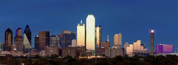 Photograph - Dallas Skyline 041919 by Rospotte Photography
